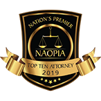 Nation's Premier top ten attorney 2019